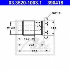 Surub gaurit - ATE 03.3520-1003.1