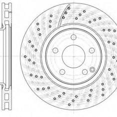 Disc frana MERCEDES-BENZ SL 350 - ROADHOUSE 61322.10 - Discuri frana Trw