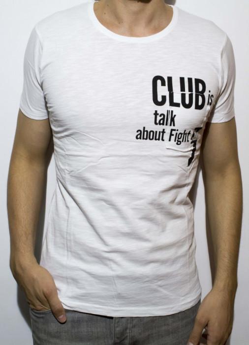 Tricou - tricou club tricou barbat tricou fashion tricou slim cod - 42