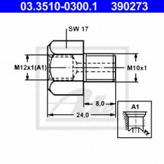 Adaptor, conducte frana - ATE 03.3510-0300.1