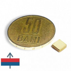 Set 20 buc magneti puternici neodim 5x5x2 placati cu aur birou office