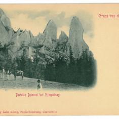 2334 - Bukowina, Suceava, CAMPULUNG, Pietrele Doamnei - old postcard - unused - Carte Postala Bucovina 1904-1918, Necirculata, Printata