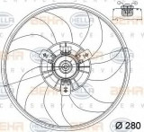 Ventilator, radiator OPEL VITA C 1.0 - HELLA 8EW 351 039-761, PIERBURG