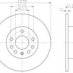 Disc frana - TEXTAR 92118500 - Discuri frana