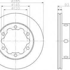 Disc frana - TEXTAR 92089800 - Discuri frana