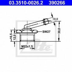 Adaptor, conducte frana - ATE 03.3510-0026.2 - Frane auto