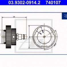 Stut aerisire - ATE 03.9302-0914.2