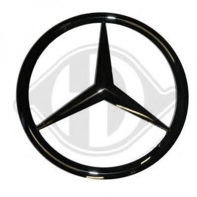 emblema radiator mercedes benz c class limuzina c 200 d diederichs 1670247 arhiva. Black Bedroom Furniture Sets. Home Design Ideas