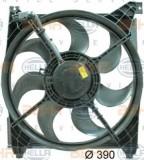 Ventilator, radiator HYUNDAI GRANDEUR 250 - HELLA 8EW 351 034-471, PIERBURG