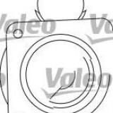 Starter PEUGEOT 505 Break 2.3 Diesel - VALEO 432529 - Electromotor