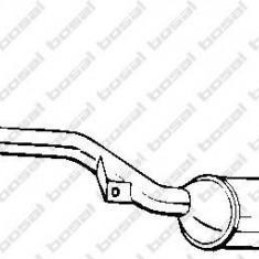 Catalizator AUDI 90 2.8 - BOSAL 099-065 - Catalizator auto