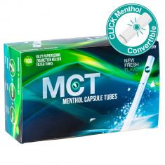 Tuburi tigari Click Menthol MCT pentru injectat tutun - Foite tigari