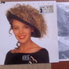 Kylie Minogue Kylie disc vinyl muzica pop lp editie vest mapa texte, VINIL