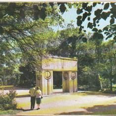 Bnk cp Targu Jiu - Poarta sarutului - necirculata - Carte Postala Oltenia dupa 1918, Printata