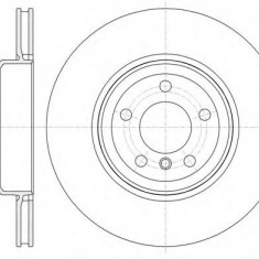 Disc frana BMW X6 ActiveHybrid - ROADHOUSE 61337.10 - Discuri frana Trw
