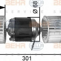 Ventilator, habitaclu - HELLA 8EW 351 034-031