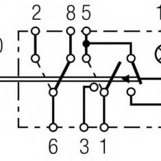 Comutator, lumini de avarie - HELLA 6HH 004 570-477 - Intrerupator - Regulator Auto