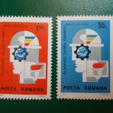 "Romania 1969 LP 699 -serie nestampilata MNH ""Colaborarea Cultural Econom. Europ"" - Timbre Romania"