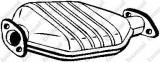 Catalizator RENAULT CLIO  1.9 D - BOSAL 099-430