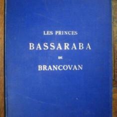 Notice Historique et Genealogique sur les Princes Bassaraba de Brancovan, Amedee de Foras, Geneve 1889