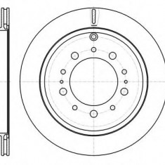 Disc frana LEXUS LX 570 - ROADHOUSE 61257.10 - Discuri frana Trw