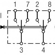 Comutator - HELLA 6FH 008 948-022 - Intrerupator - Regulator Auto