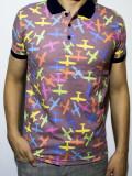 Tricou - tricou club tricou avioane tricou polo tricou colorat cod - 44
