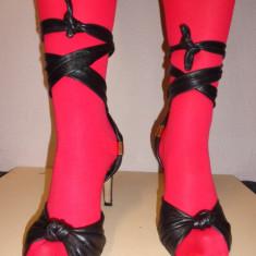 Sandale piele CHLOE originale - Sandale dama Chloe, Culoare: Din imagine, Marime: 39, Piele naturala
