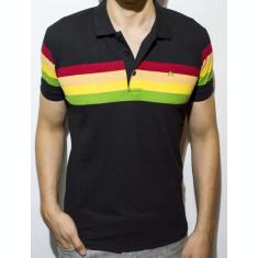 Tricou - tricou cu dungi tricou negru tricou polo tricou slim - cod 47