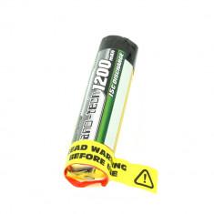 Acumulator LiPo Turnigy Nano-Tech 1200 mAh 1S 15C Cilindric
