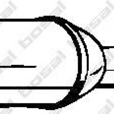 Catalizator SEAT TOLEDO  2.0 i - BOSAL 099-890 - Catalizator auto