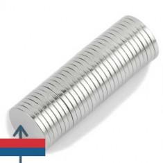 Set 100 buc magneti neodim 10x1 mm neodymium subtiri dar puternici