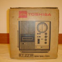 Radiocasetofon TOSHIBA RT-221R VINTAGE