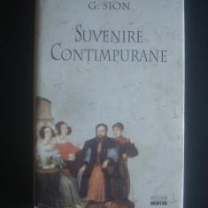 G. SION - SUVENIRE CONTIMPURANE