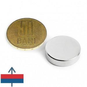 Magnet neodim puternic disc 20x5 mm neodymium