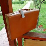 servieta diplomat piele vintage