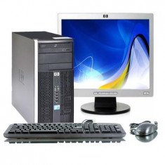 PACHET HP Compaq 6005 Pro, AMD Sempron 140, 2.70Ghz, 1Gb DDR2, 80Gb 7959 - Sisteme desktop cu monitor HP, 2501-3000Mhz, 40-99 GB, 15 inch