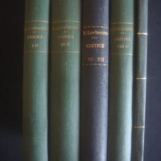 EUGEN LOVINESCU - CRITICE 11 volume {1925} - Carte veche