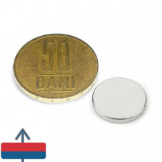 Magnet neodim puternic disc 15x2 mm neodymium ndfeb