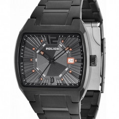 Ceas Police District PL-13407JSB-02M - Ceas barbatesc Police, Casual, Quartz, Inox, Data