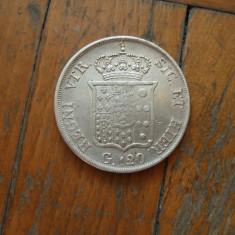 M. 120 grana 1834 Italia, argint, Europa