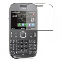 Folie Nokia Asha 302 Transparenta - Folie de protectie Nokia, Lucioasa