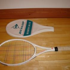 Racheta tenis DUNLOP WHITE MAX - Racheta tenis de camp Dunlop, Adulti