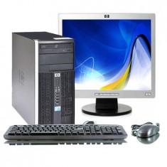 PACHET HP Compaq 6005 Pro, AMD Sempron 140, 2.70Ghz, 1Gb DDR2, 160Gb 7964 - Sisteme desktop cu monitor HP, 2501-3000Mhz, 100-199 GB, 15 inch