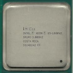 Procesor Intel Xeon E5-1680 v2, 3 GHz, 3.9 GHz turbo, 8 nuclee, LGA2011 - Procesor server, Peste 3000 Mhz, LGA 2011/ R