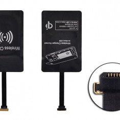 Adaptor incarcator wireless micro USB universal, De priza