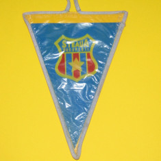 Fanion fotbal STEAUA BUCURESTI (dimensiuni 17x12 cm-vinil)
