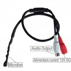 Microfon extern camera video supraveghere DVR