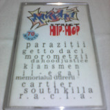 CASETA AUDIO MARPHA STRICT HIP-HOP PARAZITII,GETO DACI,RACLA...RAR!!! ORIGINALA