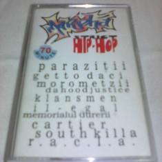 CASETA AUDIO MARPHA STRICT HIP-HOP PARAZITII, GETO DACI, RACLA...RAR!!! ORIGINALA - Muzica Hip Hop, Casete audio